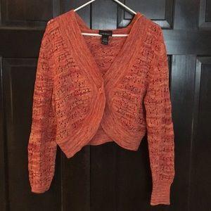 Lane Bryant 18/20 crop top/hoodie type sweater